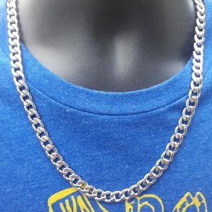 """Other - Men's 9mm Cuban Curb Chain 24"""""""